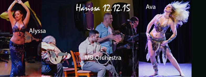 Harissa's 12-12-15