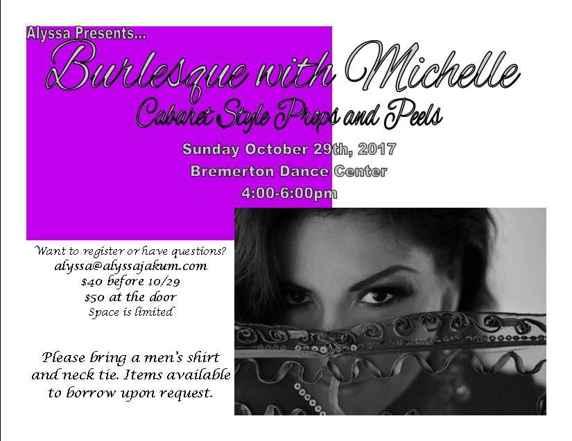 Burlesque Workshop 10.29.2017